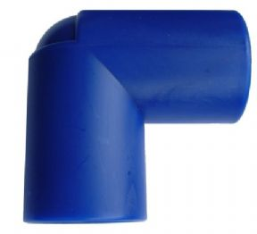 28mm BLUE PUSH FIT EQUAL ELBOW